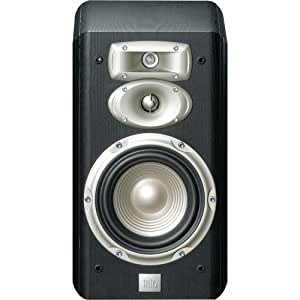 JBL L830 3-Way High Performance 6-Inch Bookshelf Loudspeaker - Black (Pair)