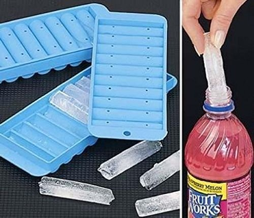 Cherry Queen Sport Bottle Ice Stick Tray Cube Cylindrical Water Drink Ice Maker Tubes New (Cylindrical Egg Timer compare prices)