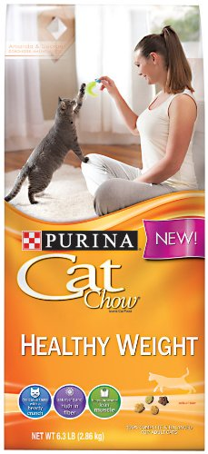 Purina Cat Chow Dry Cat Food, Healthy Weight, 6.3 Pound Bag