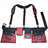 MagnoGrip 519-828 Magnetic Builders Tool Belt with Suspenders