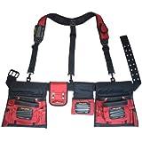 MagnoGrip 519-828 Magnetic Builders Tool Belt with Suspenders