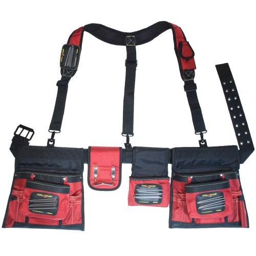 MagnoGrip 519-828 Magnetic Builder's Tool Belt with Suspenders
