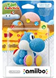 Amiibo 'Yoshi's Woolly World' - Yoshi de laine : bleu ciel