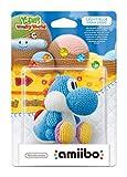 Nintendo - Figura Amiibo Yoshi Lana, Color Azul Celeste