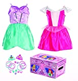 Disney Princess Bling Sleeping Beauty and Ariel Dress-Up Trunk