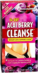 Applied Nutrition 14-Day Acai Berry Cleanse Tablets 56 Tablets (Pack of 3)