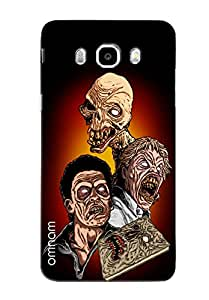 Omnam Three Zombies Printed Designer Back Cover Case For Samsung Galaxy J7 (2016)