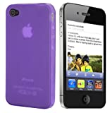 PURPLE HYDRO GEL CASE COVER FOR IPHONE 5 5G