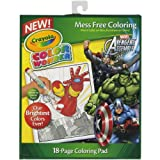 Crayola Color Wonder Coloring Pad Avengers