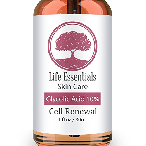 Glycolic Acid Cream 10% -Cell Renewal- Revitalize Skin- Removes Dead Skin Cells-Shrinks Pores- Hyper Pigmentation Treatment-Fades Dark Spots-Natural, Vegan & Organic Ingredients (Hyper Allergenic Soap compare prices)