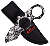 Fixed Knife Blade, Skull Tactical, with Sheath. Use Hunting, Camping, Fishing, Skinning or Survival. Best 440 Stainless Steel, Small, Compact Tanto. Limited Availability.