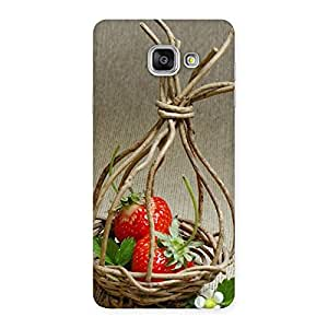 Special Straberry Basket Multicolor Back Case Cover for Galaxy A7 2016