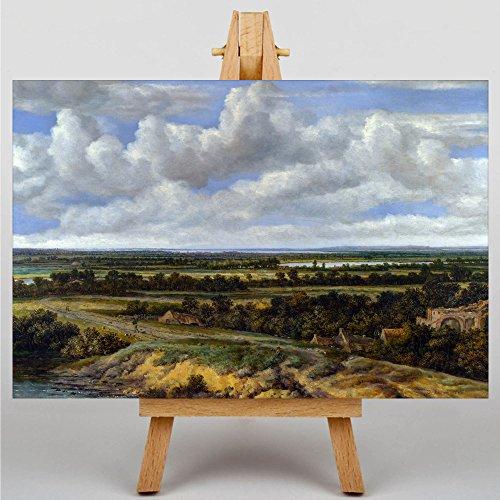 canvas-print-4028-philip-de-koninck-landscape-premium-wall-art-uv-varnish-protection-satin-gloss-hig