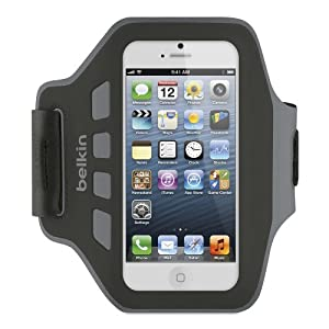 Belkin EaseFit Armband For New Apple iPhone 5 (Black)