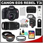 Canon EOS Rebel T3i Digital SLR Camer...