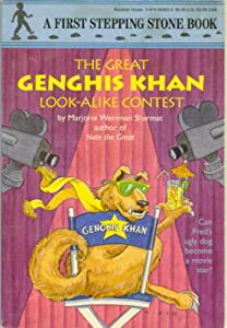 The Great Genghis Khan Look-Alike Contest (A First Stepping Stone Book) (A Stepping Stone... by Marjorie Weinman Sharmat and Mitchell Rigie