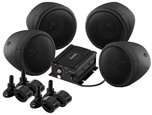 Sound Storm Laboratories SMC90BB Bluetooth Motorcycle/UTV Speaker & Amplifier System (Cycle Sounds compare prices)