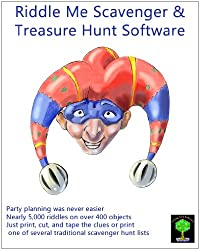 Riddle Me Scavenger and Treasure Hunt Clue Software for Mac [Download]