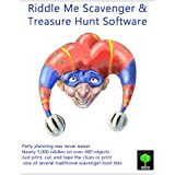 Riddle Me Scavenger and Treasure Hunt Clue Software for Mac [Download] ~ Living Tree Software