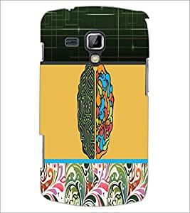 PrintDhaba Abstract Design D-3195 Back Case Cover for SAMSUNG GALAXY S DUOS S7562 (Multi-Coloured)