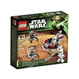 Game / Play LEGO Star Wars Clone Troopers Vs Droidekas 75000. Minifigure Playset Toys Soldiers Toy / Child / Kid