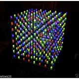 DM13A Component kit for 8X8X8 RGB LED Cube Base / Driver board