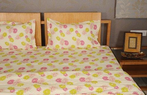 Imagen 5 de Inicio Diseño decorativo Victoria Bed Spread hoja de cama Set With One Quilt y fundas de almohada a juego