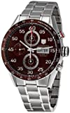 TAG HEUER CARRERA CV2A12.BA0796 GENTS STEEL BRACELET STAINLESS STEEL CASE WATCH