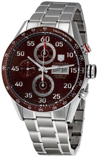 TAG Heuer Men's CV2A12.BA0796 Carrera Chronograph Watch