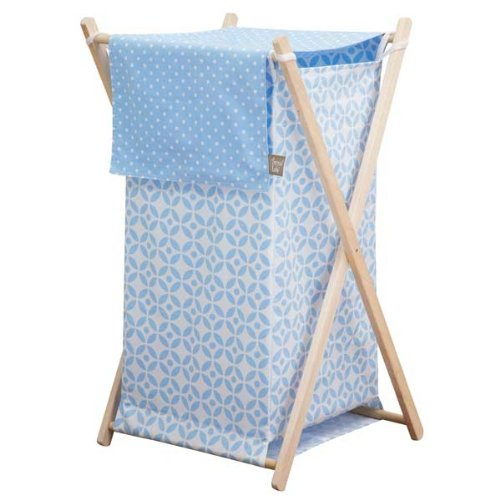 Trend Lab Logan Hamper Set, Blue