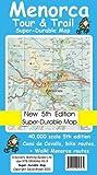 Menorca Tour & Trail Super-durable Map (5th Edition)