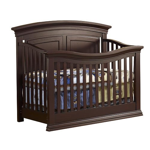 Sorelle Verona Panel Lifetime Crib Espresso back-213691