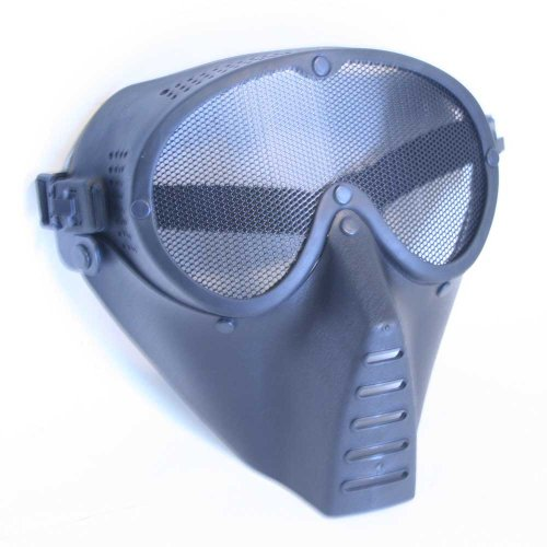 Full Face Mask Goggle Guard Safety for Airsoft