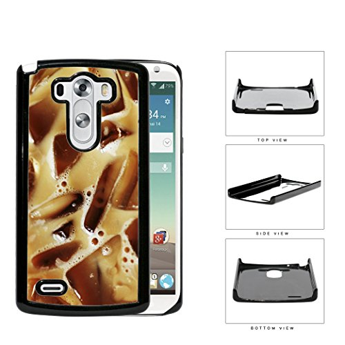 Iced Coffee Drink Caffeine Hard Plastic Snap On Cell Phone Case Lg G3