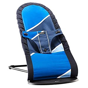 BABYBJORN Babysitter Balance Retro, Dark/Light Blue