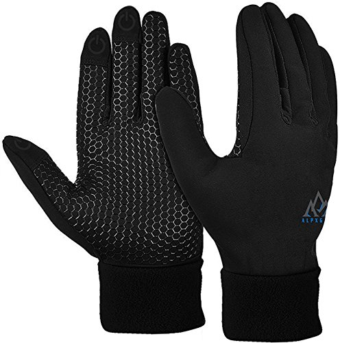 AlpxGear Touchscreen Winter Gloves for Men and Women with Free Snow Fleece Hat for Cold Weather Small (Insulated Touch Screen Gloves compare prices)