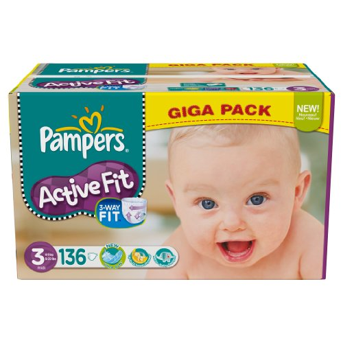 Pampers - 81371247 - Active Fit Couches - Taille