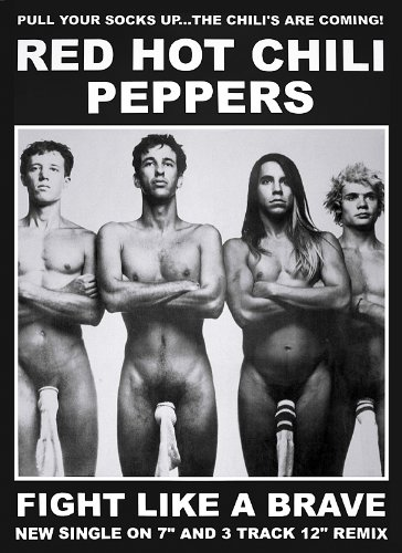 poster-red-hot-chili-peppers-595cm-x-84cm-1-paquete-de-tesa-powerstripsr-20-tiras