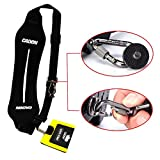 PLAY X STORE Anti-Slip Sling Neck Shoulder Strap With Rapid Fasten For Canon Nikon Sony Cameras Black