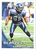 2010 Topps NFL Football Card # 282 Aaron Curry - Seattle Seahawks - NFL Trading Card in a Protective ScrewDown Case! at Amazon.com