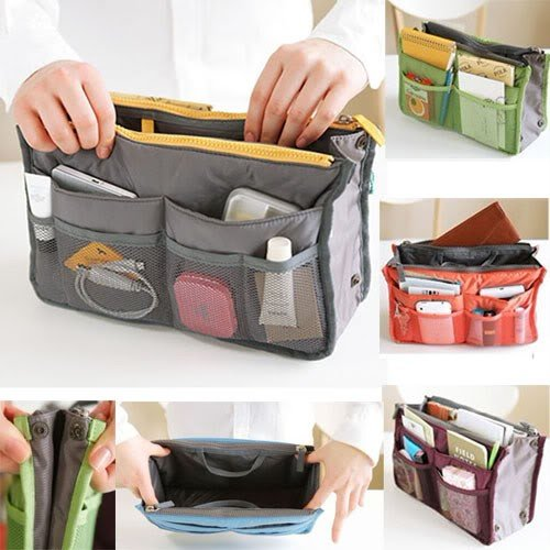 MJK STUDIO®- Insert Handbag Organiser Purse Large liner Organizer Bag Tidy Travel