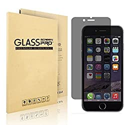 VIMVIP iPhone 6 Plus Anti-spy Privacy Premium Tempered Glass Screen Protector for Apple iPhone 6 Plus 5.5 inch,Perfect Full Screen Protector
