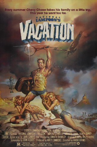 National Lampoon's Vacation Poster B 27x40 Chevy Chase Beverly D'Angelo Imogene Coca