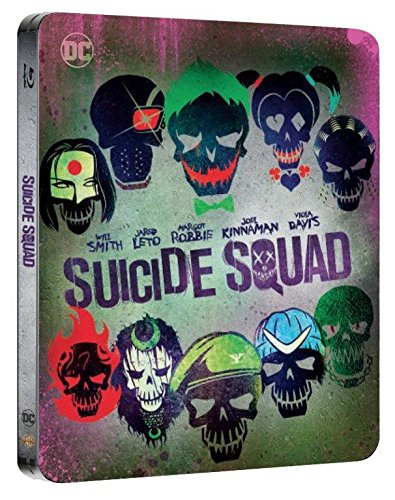 Suicide Squad - Steelbook (Esclusiva Amazon) (Collectors Edition) (Blu-Ray)