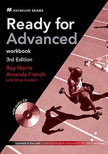 Ready for Advanced 3rd Edition Workbook (sin paquete con clave), con Audio CD