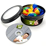 3 Balls + 3 Scarves + Instructional DVD...... The ULTIMATE Juggling Set
