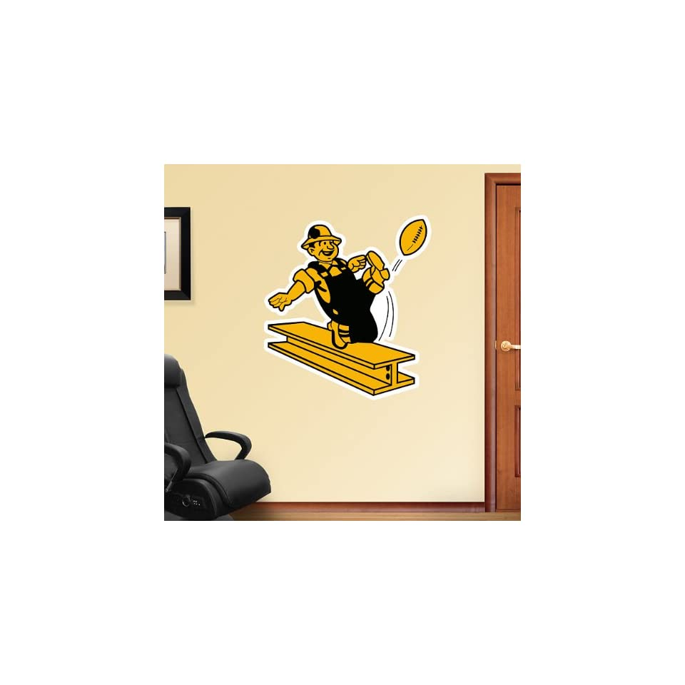 FH1414050 NFL Pittsburgh Steelers Classic Logo Vinyl Wall Graphic Decal Sticker Poster