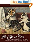 The Art of Cats Adult Coloring Book (...