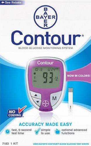 Cheap Bayer Contour Meter, Purple (B00264GO1W)