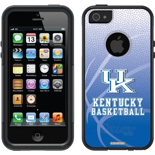 Best Price University of Kentucky Basketball design on a Black OtterBox® Commuter Series® Case for iPhone 5s / 5